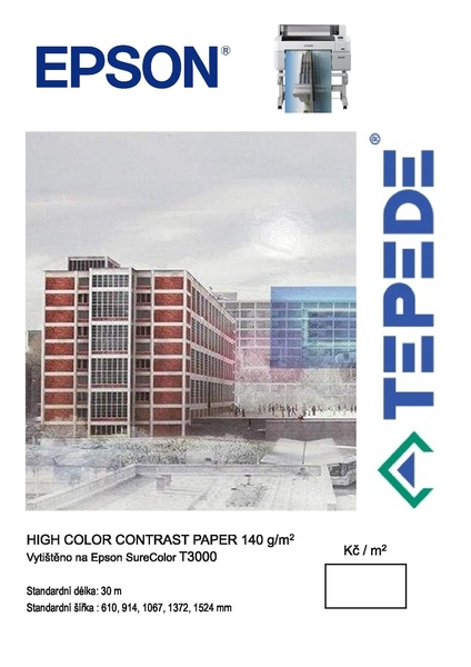 High Color Contrast paper 140g
