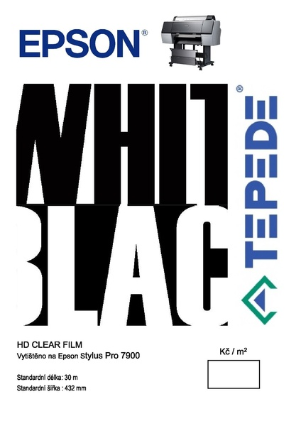 HD Clear film