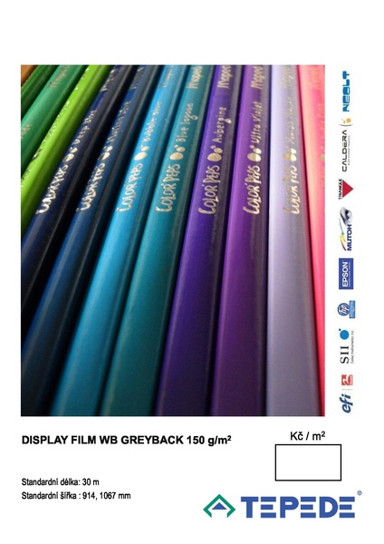 Display film WB Greyback